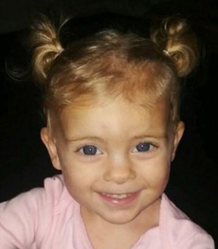 Alexandria, de apenas um ano, morreu afogada