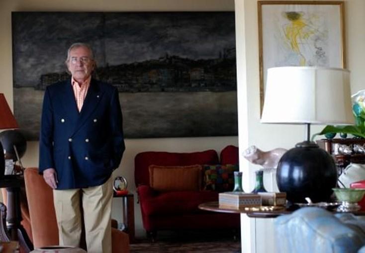 Fotografado na sua casa da Foz do Porto, em 2007