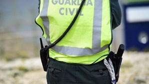 Tiros travam condutor português em Espanha