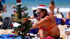 Sol e surf são os ingredientes deste Natal