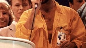 A noite em que George Michael cantou para David Bowie