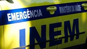 Choque em cadeia faz quatro feridos em Viana do Castelo. Dois são crianças