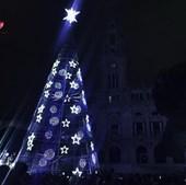 Iluminação de Natal no Porto