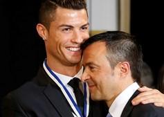 Jorge Mendes representa Cristiano Ronaldo