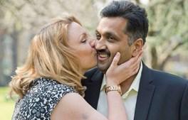 Mohammed Abad com a 'dominatrix' com quem perdeu a virgindade