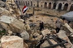 A Grande Mesquita de Alepo