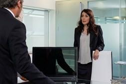 Sónia Neves contracenou com Diogo Infante na novela 'Mundo ao Contrário'.