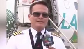O piloto Miguel Quiroga