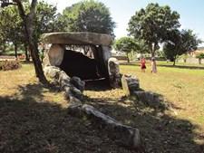 Dólmen da barrosa,  em Âncora, edificado  no período neolítico