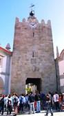 Torre do relógio é dos monumentos mais visitados de caminha. É relógio público desde o século XVII