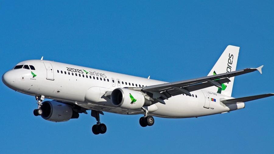 Avião da Azores Airlines