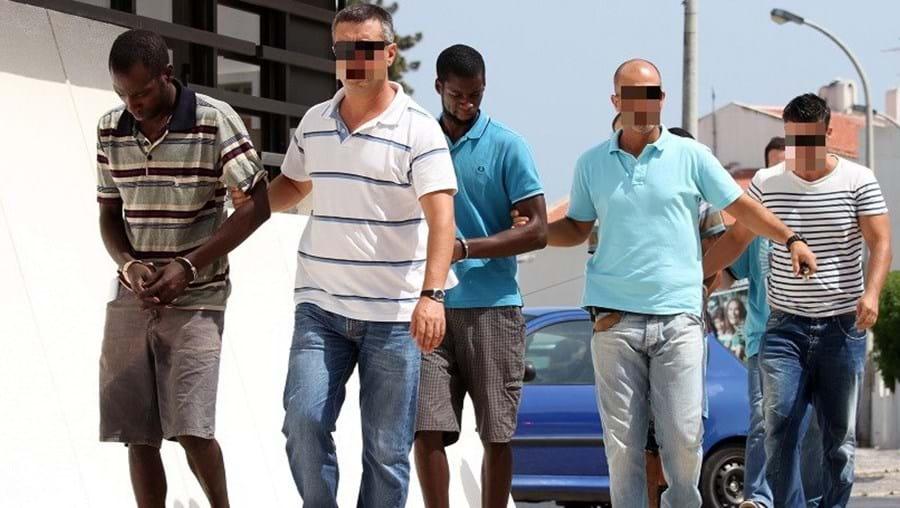 Suspeitos foram detidos pela GNR em agosto  de 2013