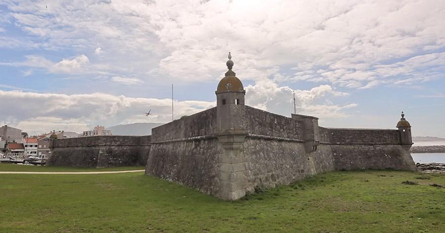 Forte da Lagarteira, em Vila Praia de Âncora, foi edificado para defesa contra investidas espanholas na Guerra da Restauração