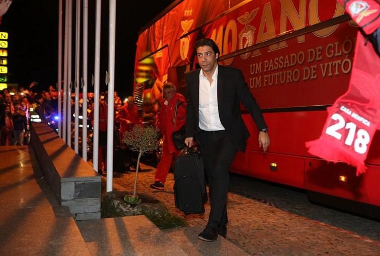 Rui Costa, antiga glória do Benfica, é administrador da SAD do clube