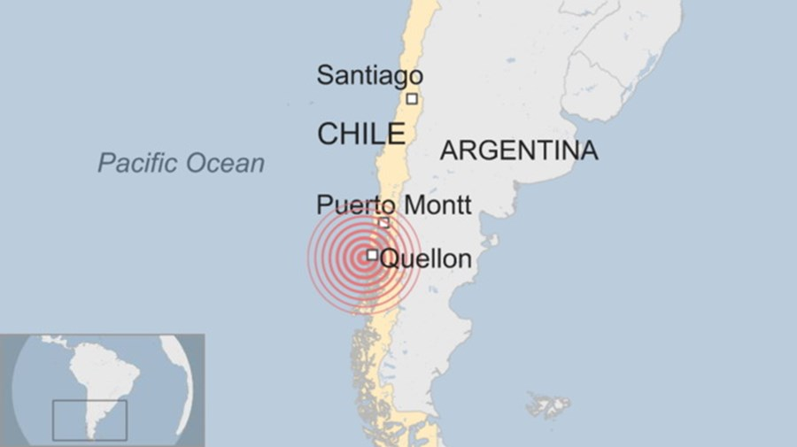 Epicentro do sismo