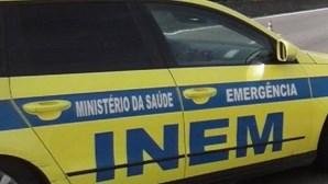 Despiste de moto4 em Almada deixa criança de 5 anos em estado crítico