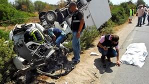 Estradas da região com mais acidentes