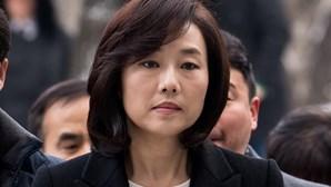 Ministra da cultura da Coreia do Sul detida por escãndalo de corrupção