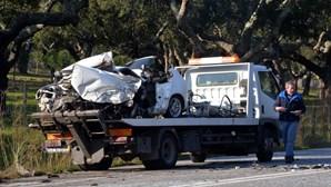 Morto na estrada em choque brutal