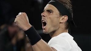 Nadal regressa ao primeiro lugar do 'ranking' mundial de ténis