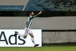 Frederico Venâncio celebra o golo