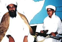 Bin Laden e um dos filhos
