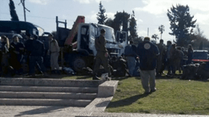 Camião avança contra multidão em Jerusalém