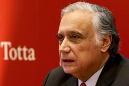 O presidente do Santander Totta, António Vieira Monteiro