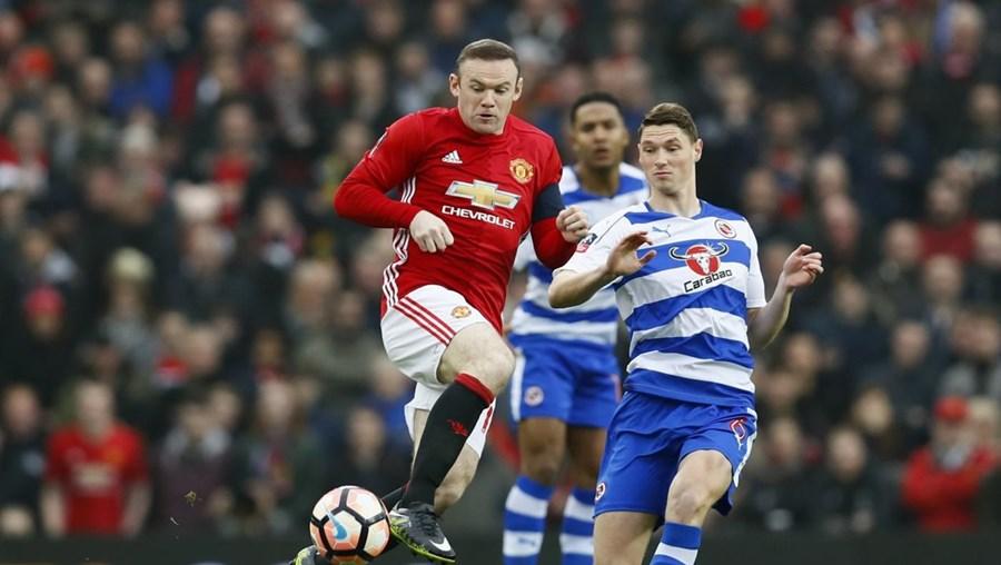 Wayne Rooney marcou e foi um dos heróis da partida em Old Trafford