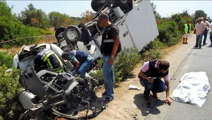 Em 2016 morreram 31 pessoas nas estradas do Algarve