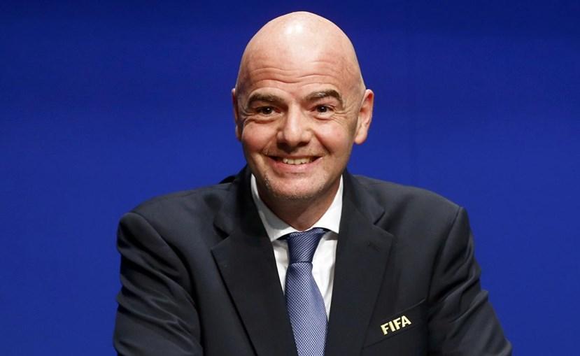 Gianni Infantino, presidente da FIFA
