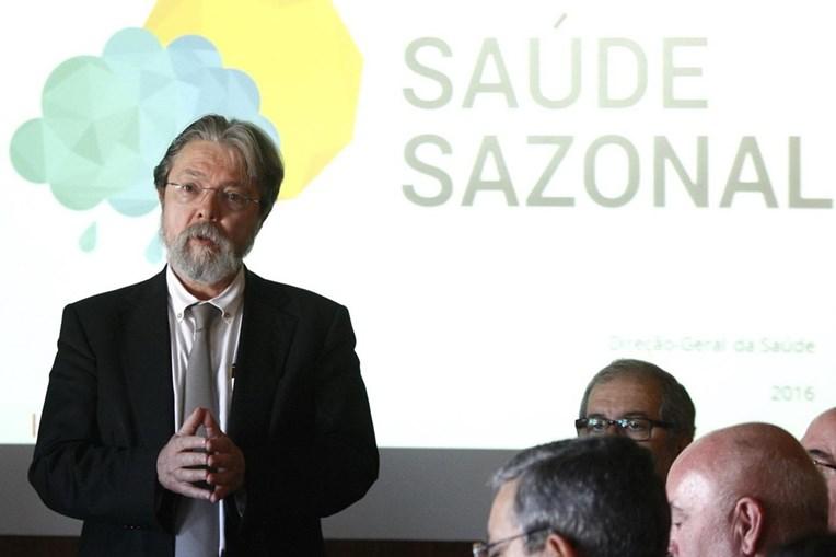 O diretor-geral da Saúde, Francisco George