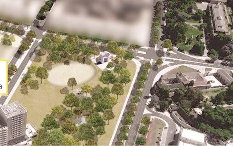 Projeto para a Praça de Espanha irá promover o acesso da população à futura área verde