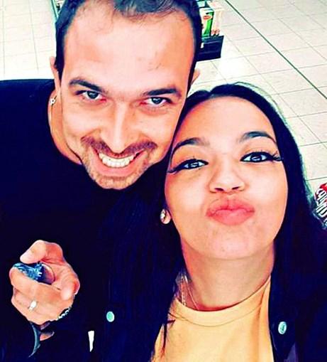 Fotografia publicada em outubro mostra felicidade de Ana e Marco