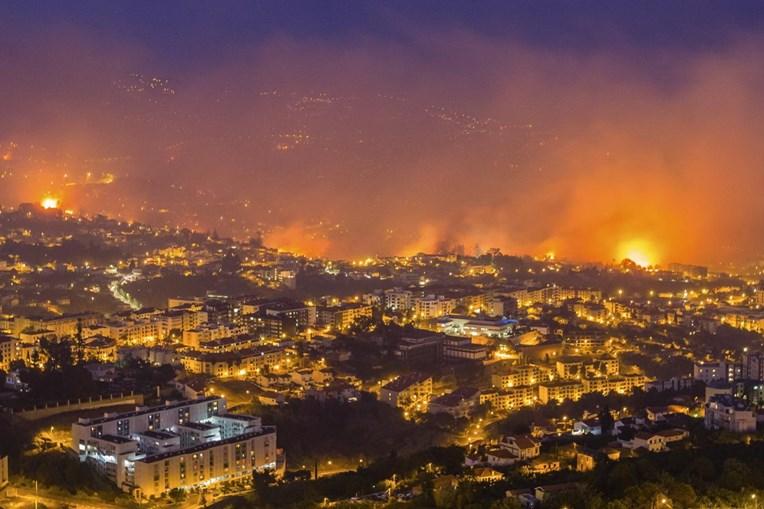 Fogos na Madeira deixaram rasto de destruição