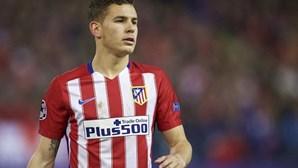 Tribunal espanhol suspende execução de pena de prisão do jogador Lucas Hernández