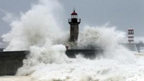 """""""Protejam-se"""": Proteção Civil alerta para agravamento do estado do tempo"""