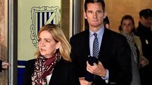 Infanta Cristina absolvida e marido condenado a 6 anos de prisão