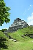 'El Castillo' domina o complexo Maia de Xunantunich