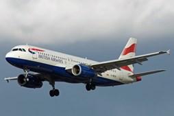Avião em causa é um A20 da British Airways