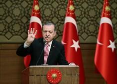 O presidente turco Recep Tayyip Erdogan