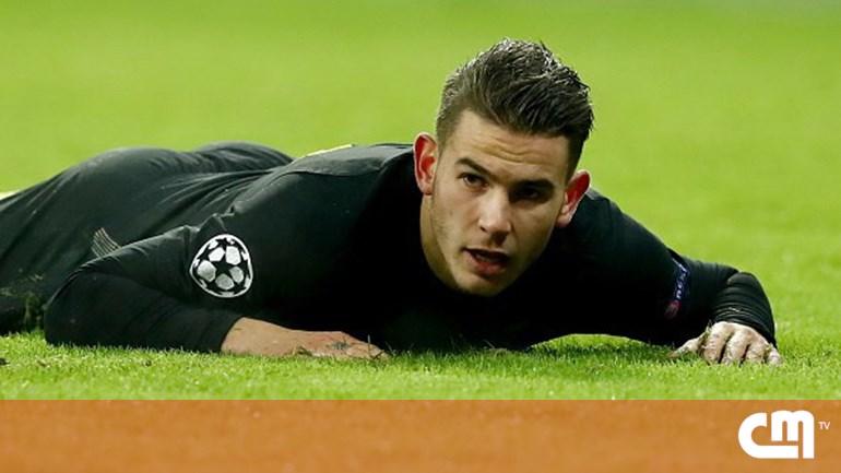 759598ebbc Jogador do Atlético de Madrid detido por violência doméstica ...
