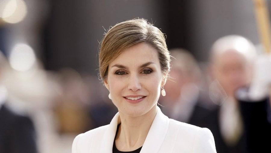 A rainha Letizia, de Espanha.