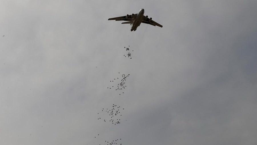 Avião no Sudão