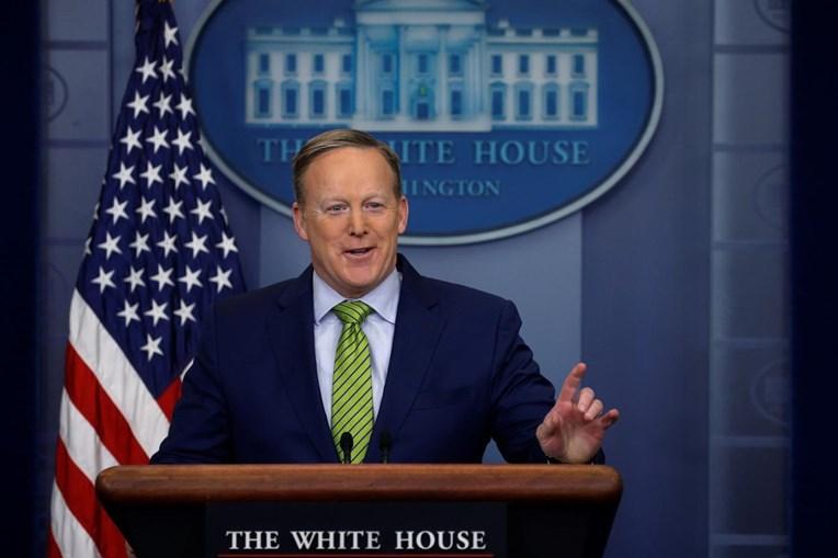 O porta-voz da Casa Branca, Sean Spicer