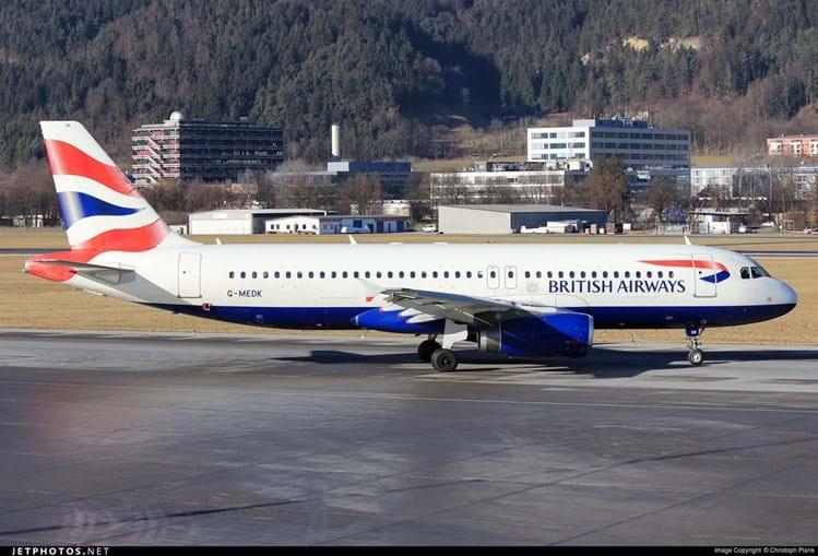 Avião é semelhante a este Airbus A320 da British Airways