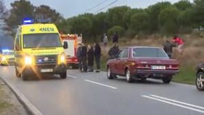 GNR atropelado a sinalizar acidente