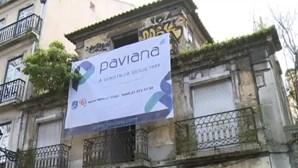 Moradores manifestam-se contra demolição de edifício histórico em Lisboa