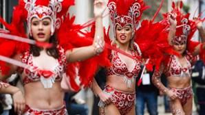 Chuva não ameaçou corso do Carnaval da Mealhada