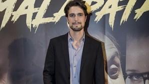 """Diogo Morgado """"bem e feliz"""" sem Joana"""